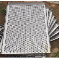 China Metal Perforated Wire Basket Cable Tray , Stainless Steel Baking Sheet For Food Processing wholesale