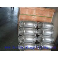 China MSS-SP75  WPC A420 WPL6 Stainless Steel Butt Weld Pipe Fittings In All Wall Thickness Elbow on sale