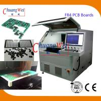 Buy cheap 15W UV Laser PCB Cutting Machine ±20 μM Precision For FR4 PCB Boards from wholesalers