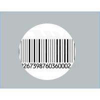 China Professional Tamper Evident Barcode Security Seal Labels , Self Adhesive wholesale