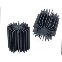 China Sunflower Heat Sink /  Aluminum Heatsink Extrusion Profiles For Led Light , Black Anodized wholesale