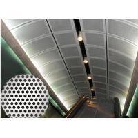 Buy cheap 4mm Thickness Perforated Metal Mesh 40% Filter Rating Acid - Resisting from wholesalers