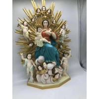 China Virgin Mary Statue 1200dpi Stereolithography 3D PrintingCustom Hand Painting wholesale