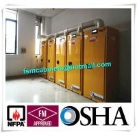 Quality Flammable Safety Storage Cabinet With Filter System, Temperature Control Safety Storage Cabinet for sale