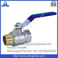 China 600wog Brass Ball Valve with Butterfly Handle wholesale