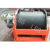 China Anchor Type Lebus Groove Drum Power Winch Machine ,mooring and boat ,One Year Warranty wholesale