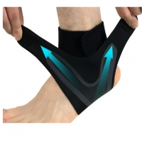 China Ankle Brace Compression Support Sleeve for Plantar Fasciitis Arch Tendon Adjustable Foot Support wholesale