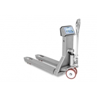China high contrast LCD display AISI 304 STAINLESS STEEL PALLET TRUCK SCALES wholesale
