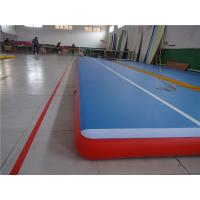 China Commercial Outdoor Tumbling Mats , Blow Up Air TrackFor Playground Wear Resistance wholesale