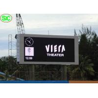 China Big Commercial Advertising Timer Led Billboards With Aluminum Frame , Great Waterproof on sale