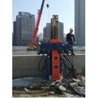 China Suitable For 300mm-700mm H-Beam Piles Hydraulic Pile Pulling Machine wholesale