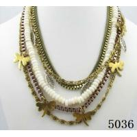 China Fashion accessories jewelry Copper Alloy Antique Bronze Necklace wholesale