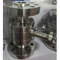 China 3pc Forged Stainless Steel Floating Ball Valve With Flanged Connection on sale
