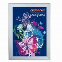 China A3 Snap Poster Frames Silver Lightweight Durable Rigid Plastic Sheet wholesale