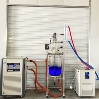 China Lab Heater and Chiller Cooling Multi-function Laboratory Distiller Cooler Touch Science Chiller for 50 L Evaporator wholesale