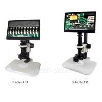 High Resolution LCD Screen Microscope With Digital Camera 3D - 02 - LCD Series