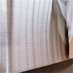 China NO.4 304 2mm Brushed Stainless Steel Sheet 20 Gauge 0.036 12 X 5 wholesale