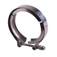 China Fine Polished Grooved Pipe Clamps , Stainless Steel Pipe Fitting Clamps wholesale