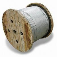 China Galvanized Steel Wire Strands, Stay and Messenger Wire, Aerial Self-support wholesale