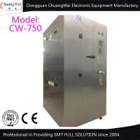 China All SUS304 Stainless Steel smt cleaning equipment Pneumatic Stencil Cleaner wholesale