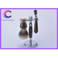 China Men's Grooming  traditional shaving sets with shaving brush ,  stand , mach3 razor wholesale