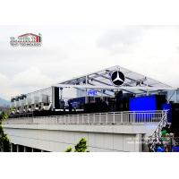 China Transparent  Roof Cover  20X40M Outdoor Event Tents With Inside Decoration wholesale