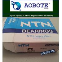 Quality Deep Groove NTN Ball Bearings 7005AC With Heavy Load In Molding Machine for sale