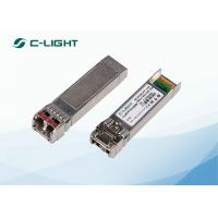 China FTLX1571D3BCL Juniper Compatible 10G SFP+ 1550nm , 40km Single Ethernet SFP Module LC Connector wholesale