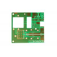 China Rogers 2 Layer Double Sided PCB Prototype Board Multi - Layer for Communication Systems wholesale