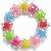 China Children's Jewelry Bracelet, Customized Designs are Welcome, Made of Acrylic Beads wholesale