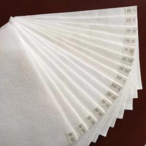 China Polyester 1 Micron Felt Polyproplyene Micron Felt For Liquid Filtration wholesale