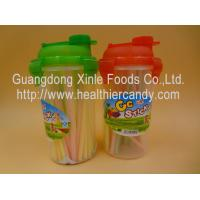 China Personalized Fruit Flavor CC Hard Candy Sticks Sweets In Cup OEM Available wholesale