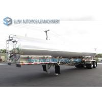 China Horizontal Oil Tank Trailer 30000 Liters 2 Axles Fuel tanker Semi Trailer wholesale