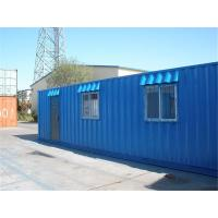 China Footer Cfolding Container House Steel Prefab Flat Packed 20ft Shipping Frame wholesale