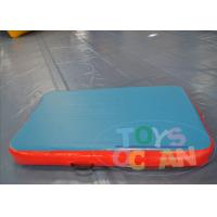 China Small Gymnastics Equipment Tumble Track / Inflatable Tumble Floor For Outside wholesale