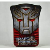 China Mini Embossed Tin Can Custom Design Accepted Transformer Shield Box wholesale