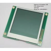 China Transflective Segment LCD Display COB 160 * 160 , blue 7 segment display Module wholesale