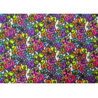 China Non - Flammable Patterned Polyester Fabric / Heavy Twill Fabric Safe And Clean wholesale
