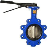 China Lug Style API609 Electric Actuated Butterfly Valve wholesale