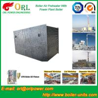 China 100 T Boiler Part Tubular Air Preheater / APH In Boiler Natural Circulation wholesale