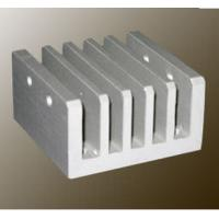 China Steel Polished / Electrophoretic Aluminum Heatsink Extrusion Profiles With Fabricating wholesale