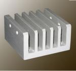 China Steel Polished / Electrophoretic Aluminum Heatsink Extrusion Profiles With Fabricating wholesale