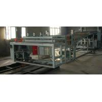 Quality Plastic Extrusion Machine , PVC Wave Board Double Screw Extruder for sale