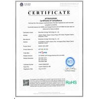 Shenzhen Airnergy Technology Co.,LTD Certifications