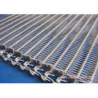 China Wire Mesh SS Belt Conveyors Oxidation Proof , Stainless Steel Conveyor Chain Belt Spiral Type wholesale