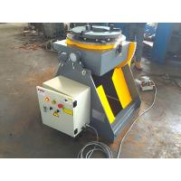 China Welding Turn Table Positioner With 3 Jaws Welding Chuck 2 Direction 90° Tilting wholesale