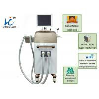 China one shot 1 session vacuum assisted laser hair removal 810 diode suction for man women wholesale