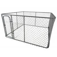 strong_style_color_b82220_dog_kennel_strong_4ft_x_7_5ft_x_7_5ft_1220mm_x_2300mm_x_2300mm_chain_mesh_strong_style_color_b82220_dog_ chain link dog kennel on wire mesh gate