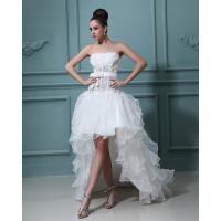 China Beautiful halter tulle short long Wedding Dresses Gowns for Bridal wholesale