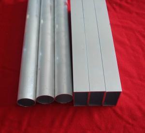 China Furniture / Decorative Aluminum Extrusion Tube Profile 15.5 * 11.5mm Anti Corrosion wholesale